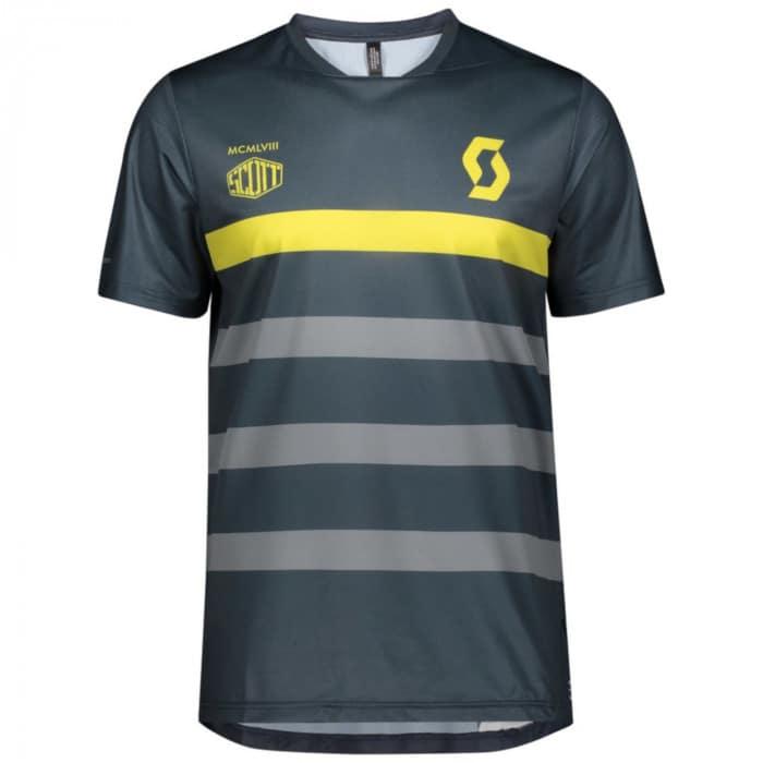 Scott Trail Flow Pro S/SL Rad Shirt kurzarm Herren
