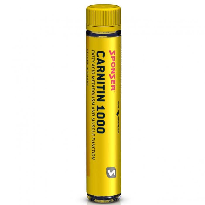 Sponser Carnitin 1000 Ampulle (25 ml)