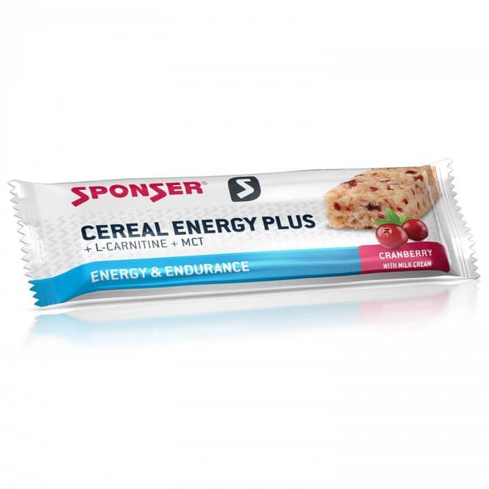 Sponser Cereal Energy Plus Energieriegel Box (15 x 40 g)