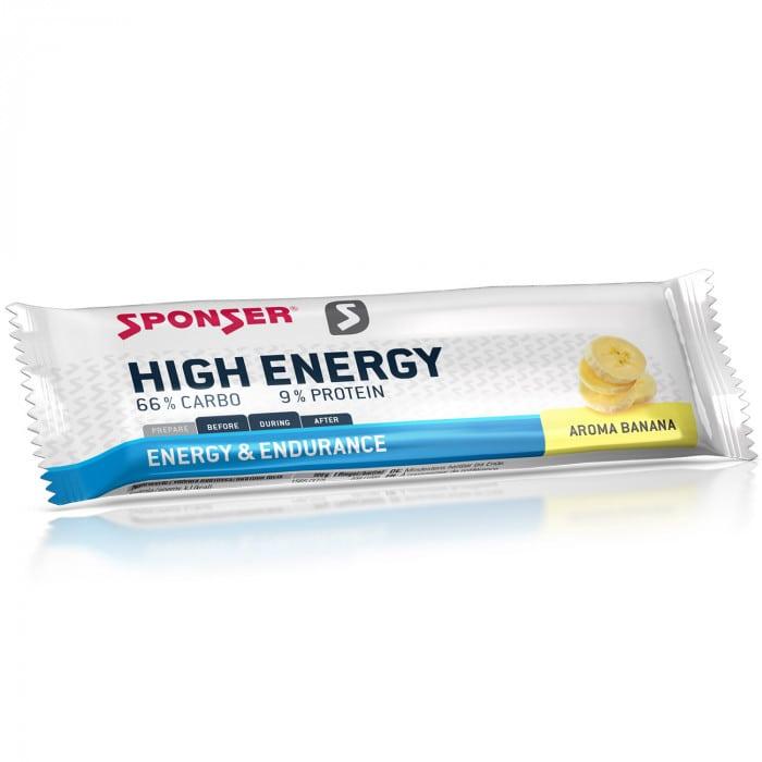 Sponser High Energy Bar Energieriegel Box (30 x 45 g)