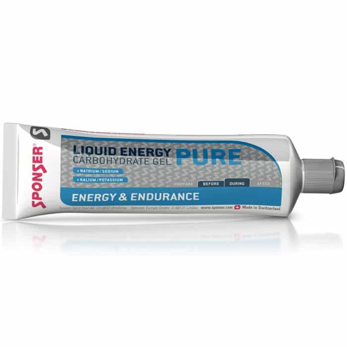Sponser Liquid Energy Pure Energy-Gel Tube (70 g)
