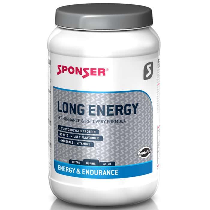 Sponser Long Energy 5 %  Kohlenhydrat-Elektrolyt-Getränkepulver (1200 g)