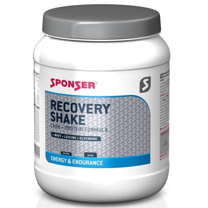 Sponser Recovery Shake Kohlenhydrat-Protein-Getränkepulver Dose (900 g)