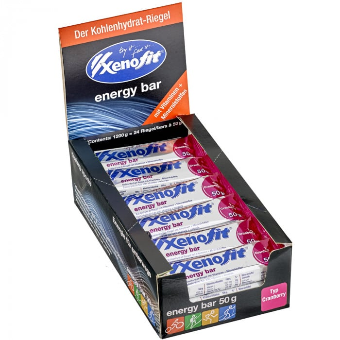 Xenofit Energy Bar Energieriegel Box (24 x 50 g)