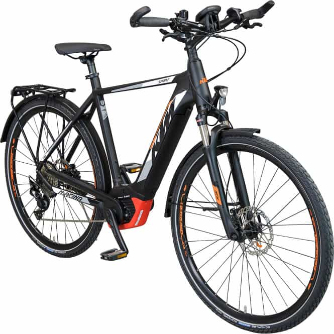 ktm macina sport pt e bike trekkingbike 56 cm schwarz. Black Bedroom Furniture Sets. Home Design Ideas