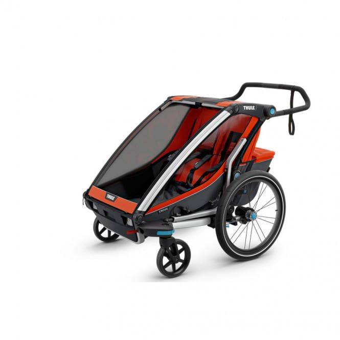 thule chariot cross 2 fahrradanh nger 2018 online shop. Black Bedroom Furniture Sets. Home Design Ideas