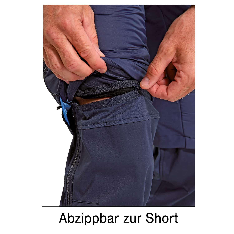 Dynamics Hybrid Alpin Zip Off Hose Herren