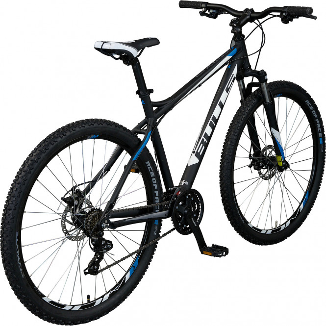 bulls raptor disc mountainbike 29 schwarz blau wei 56. Black Bedroom Furniture Sets. Home Design Ideas