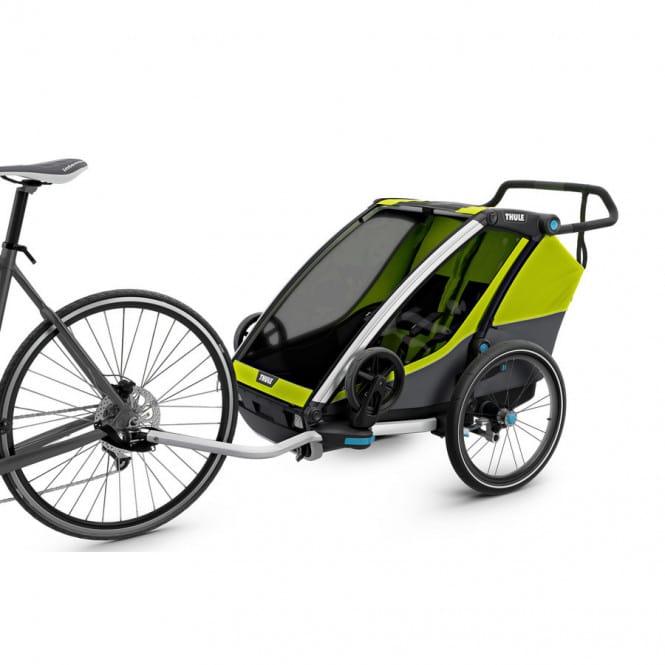 thule chariot cab 2 fahrradanh nger 2018 online shop. Black Bedroom Furniture Sets. Home Design Ideas