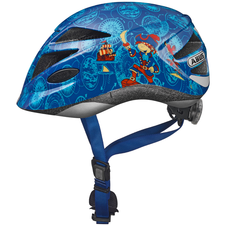abus hubble fahrradhelm kinder pirat gr e s 46 52 cm online shop zweirad stadler. Black Bedroom Furniture Sets. Home Design Ideas