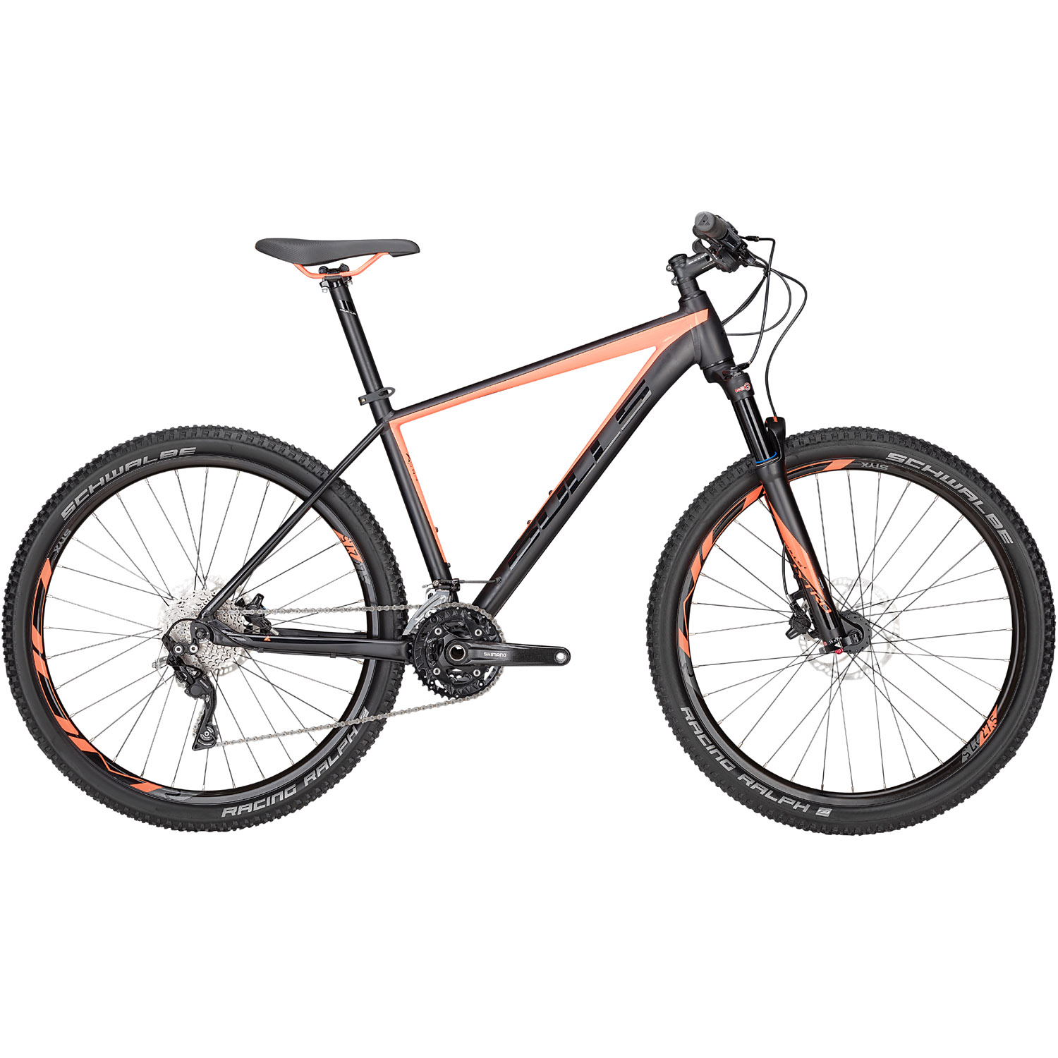 bulls copperhead 3 hardtail mountainbike 27 5 zoll schwarz. Black Bedroom Furniture Sets. Home Design Ideas