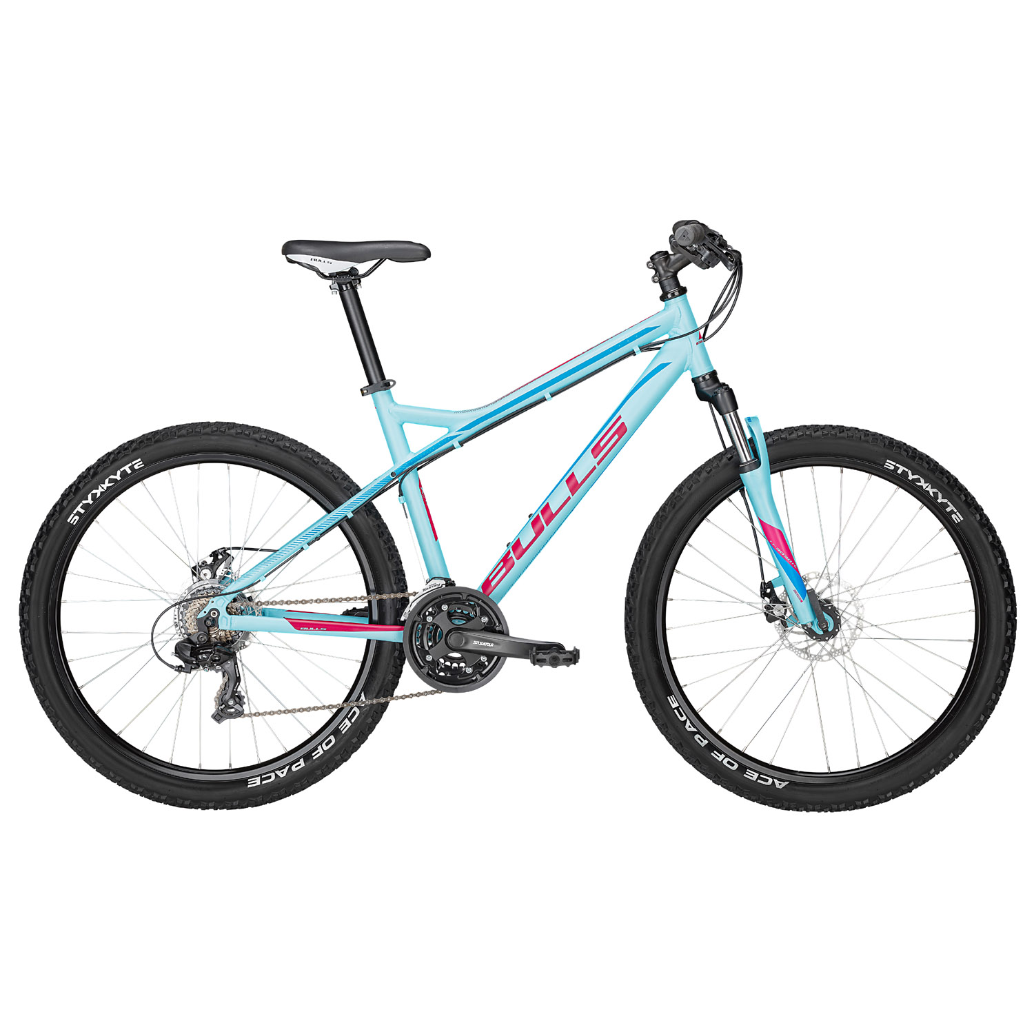 bulls nandi mountainbike 26 zoll damen 41 cm light blue. Black Bedroom Furniture Sets. Home Design Ideas