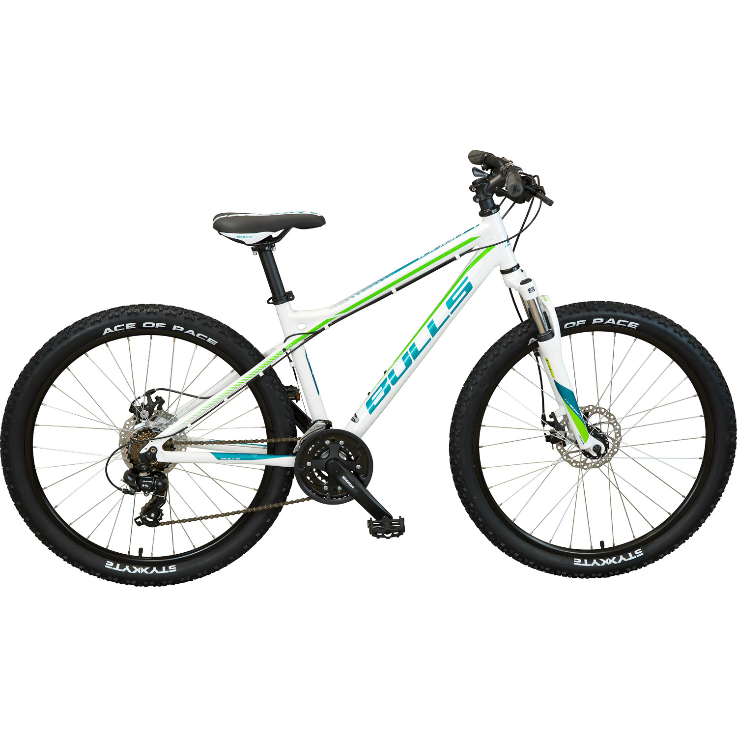 bulls nandi mountainbike 26 zoll damen 51 cm wei. Black Bedroom Furniture Sets. Home Design Ideas
