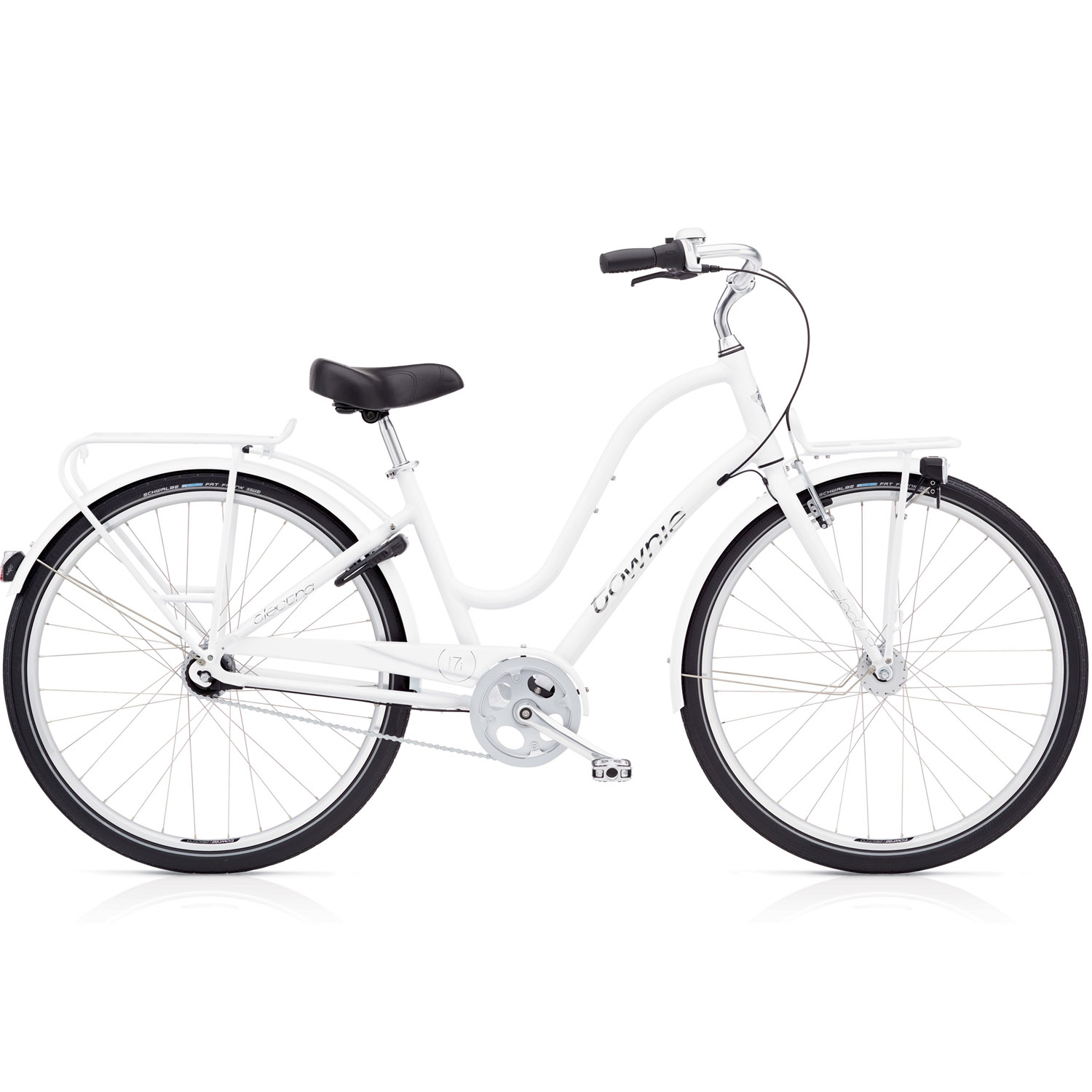 electra townie commute 7i citybike white online shop. Black Bedroom Furniture Sets. Home Design Ideas