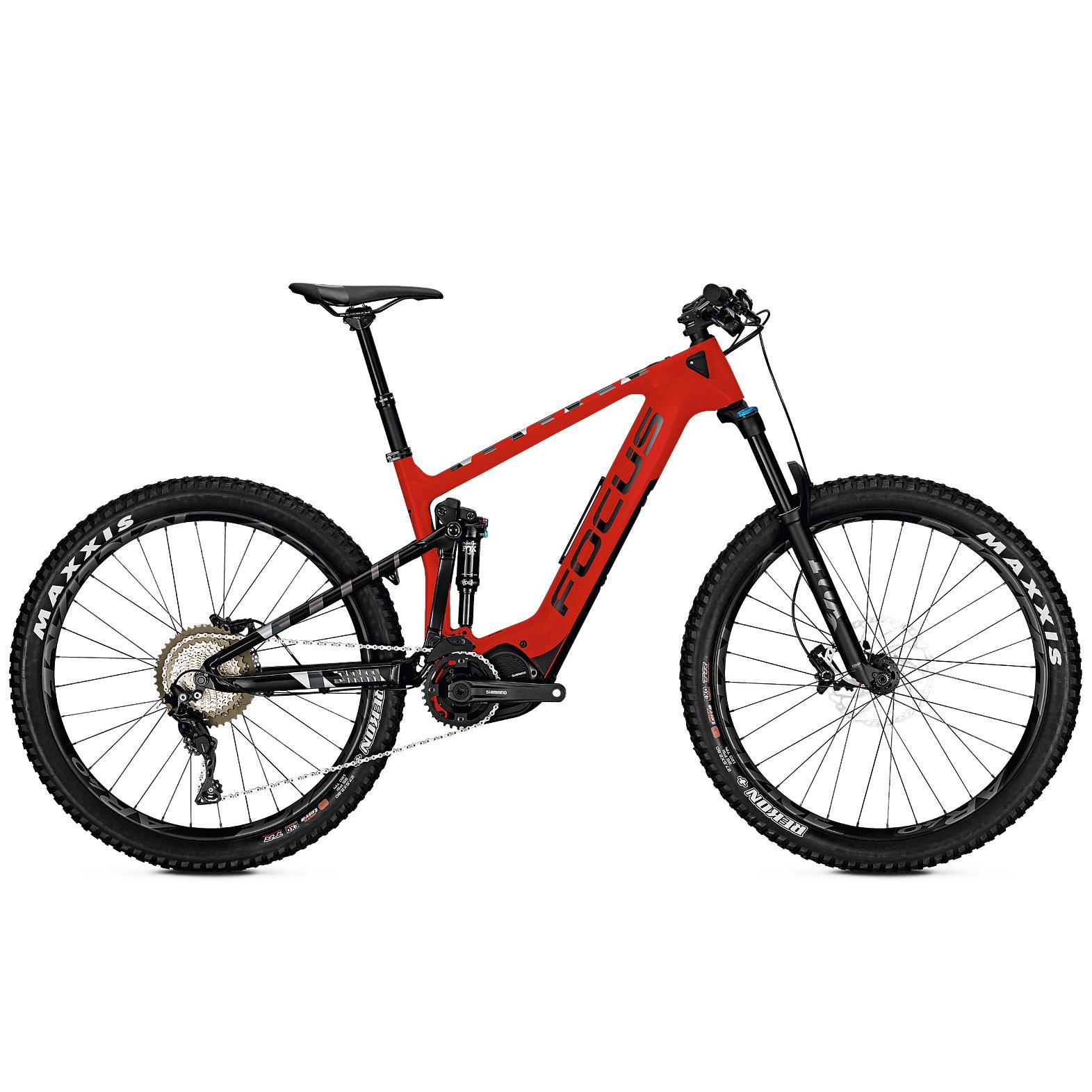 focus jam c plus e mountainbike fully 27 5 rot schwarz. Black Bedroom Furniture Sets. Home Design Ideas