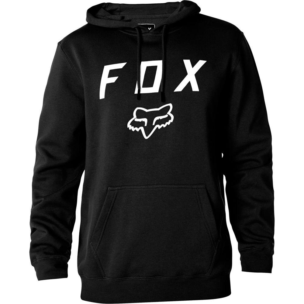 fox legacy moth pullover hoody schwarz gr e m online. Black Bedroom Furniture Sets. Home Design Ideas