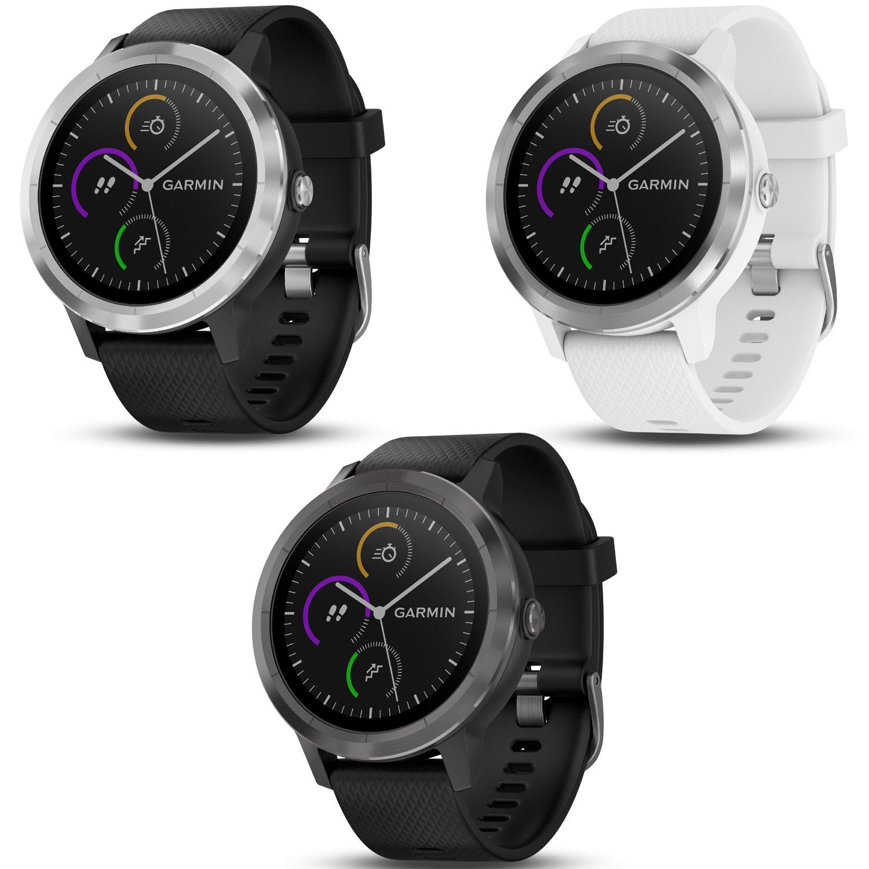 Garmin Vivoactive 3 GPS-Smartwatch Schwarzes ...