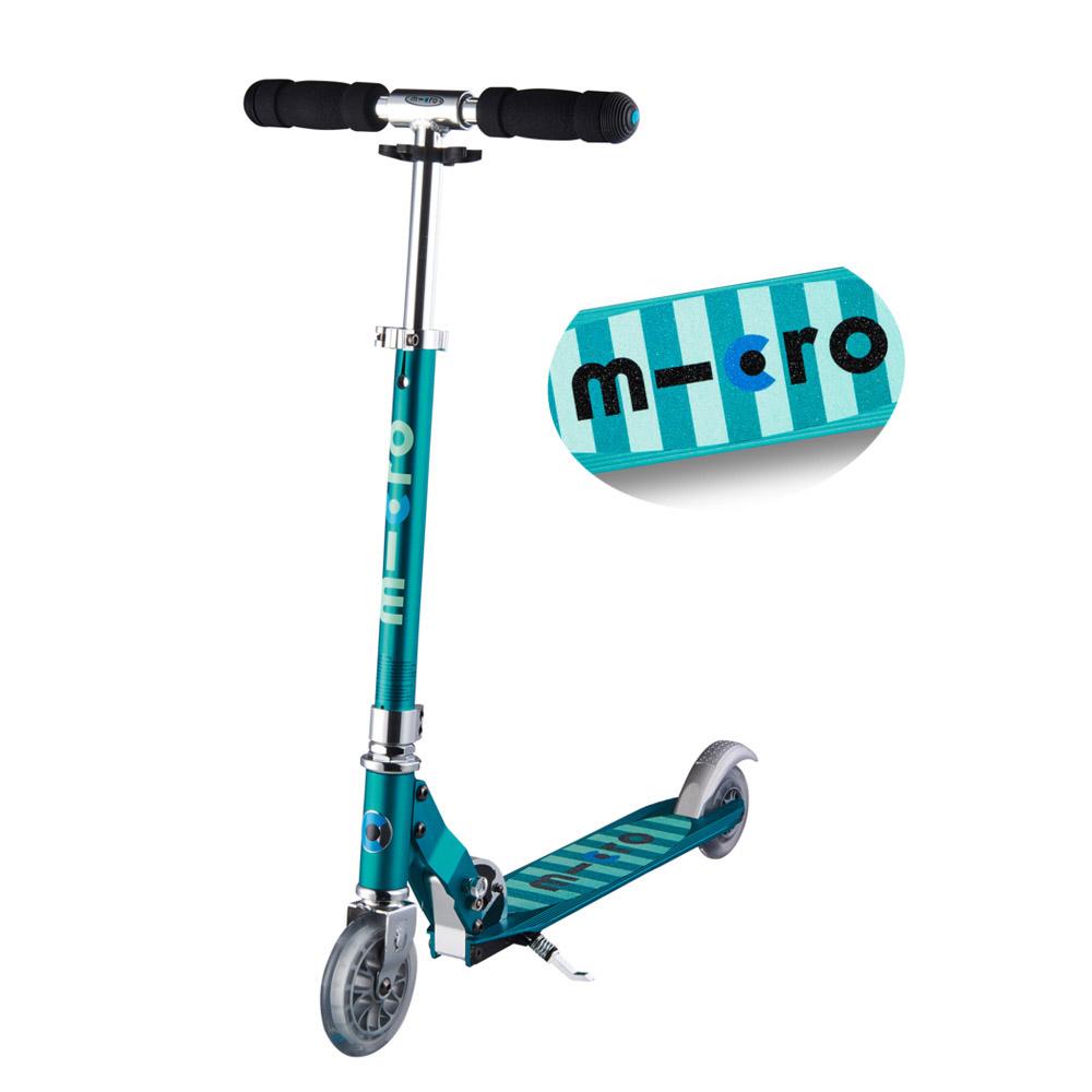 micro scooter sprite mit streifen online shop zweirad. Black Bedroom Furniture Sets. Home Design Ideas