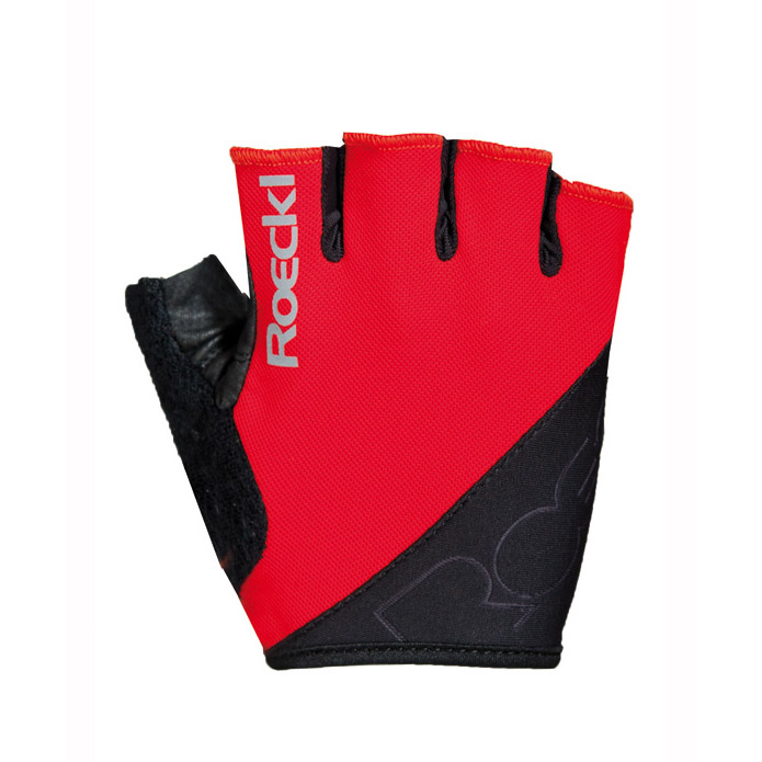 roeckl bologna fahrrad handschuhe kurz rot gr e 10. Black Bedroom Furniture Sets. Home Design Ideas