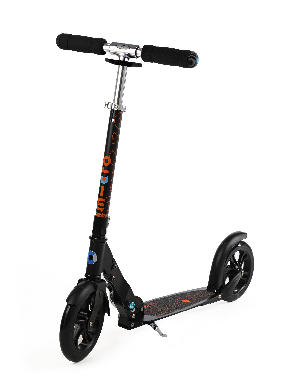 micro scooter micro black farbe schwarz online shop. Black Bedroom Furniture Sets. Home Design Ideas