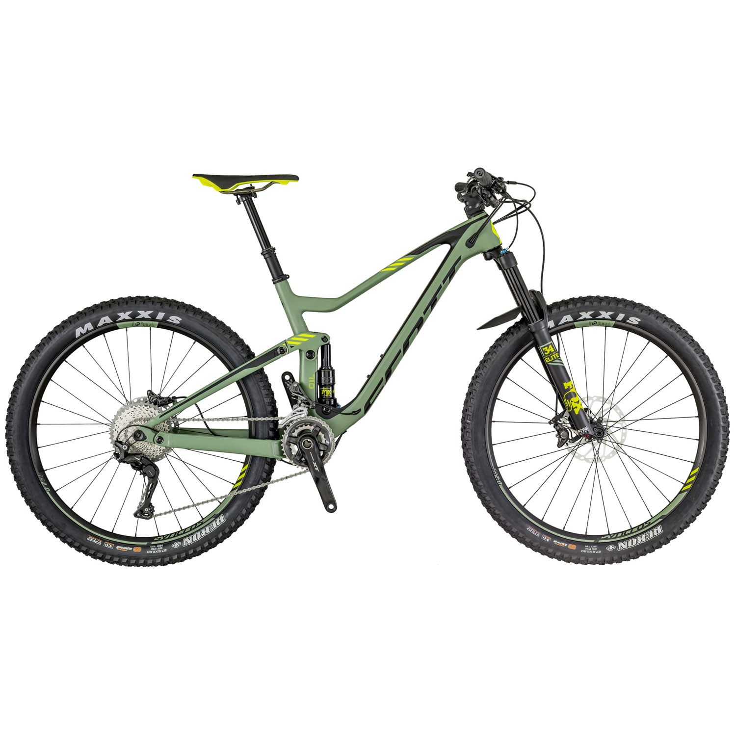 scott genius 710 fully mountainbike 27 5 zoll 48 cm l. Black Bedroom Furniture Sets. Home Design Ideas