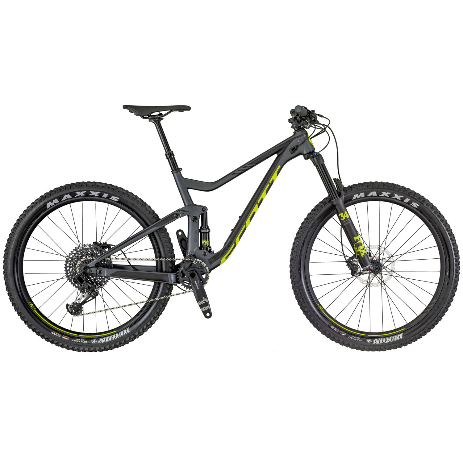 scott genius 740 fully mountainbike 27 5 zoll 44 cm m. Black Bedroom Furniture Sets. Home Design Ideas
