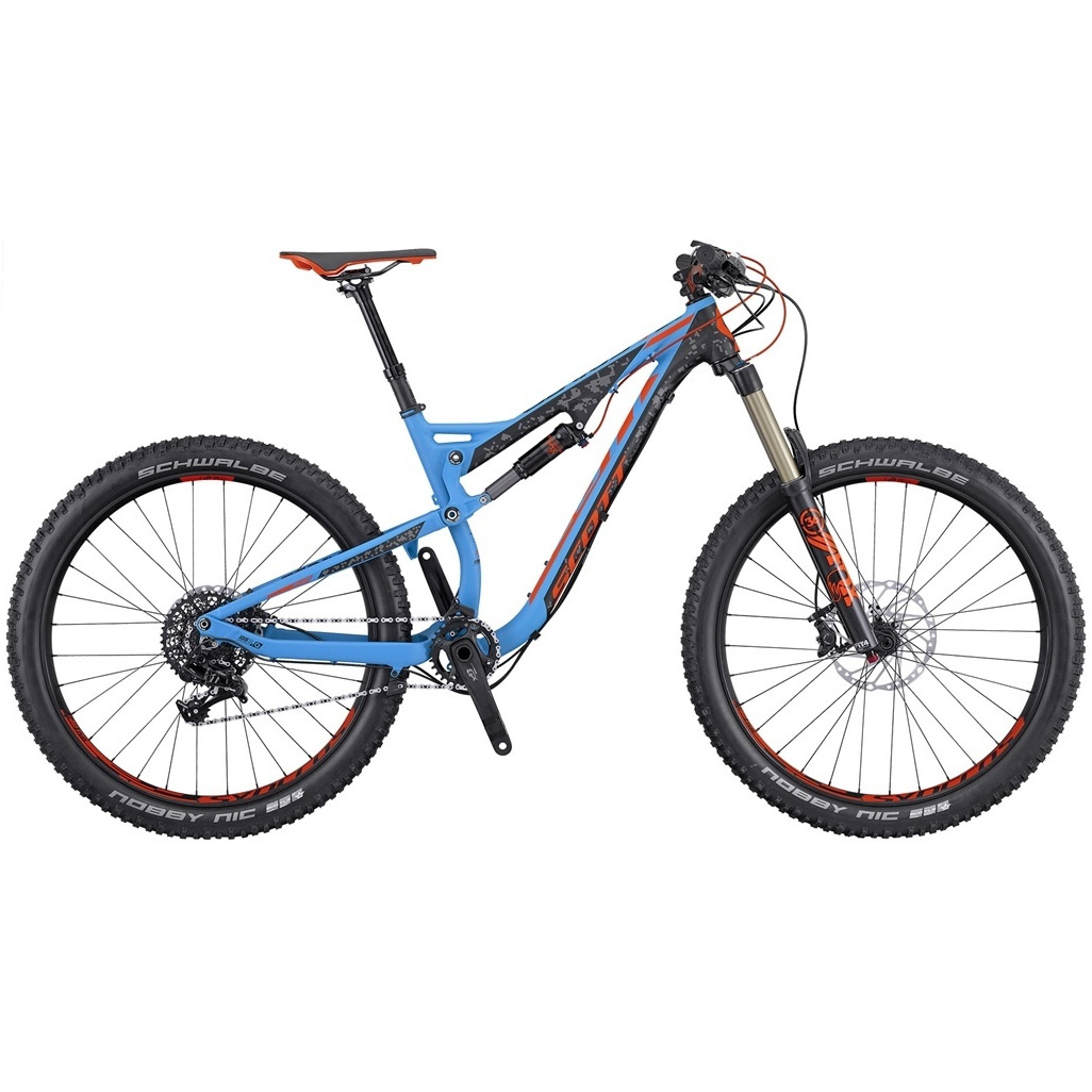 scott genius lt 720 plus fully mountainbike 27 5 zoll 41. Black Bedroom Furniture Sets. Home Design Ideas