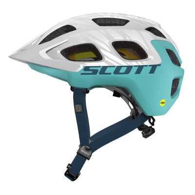 scott vivo plus mtb helm wei blau gr e l 59 61 cm. Black Bedroom Furniture Sets. Home Design Ideas