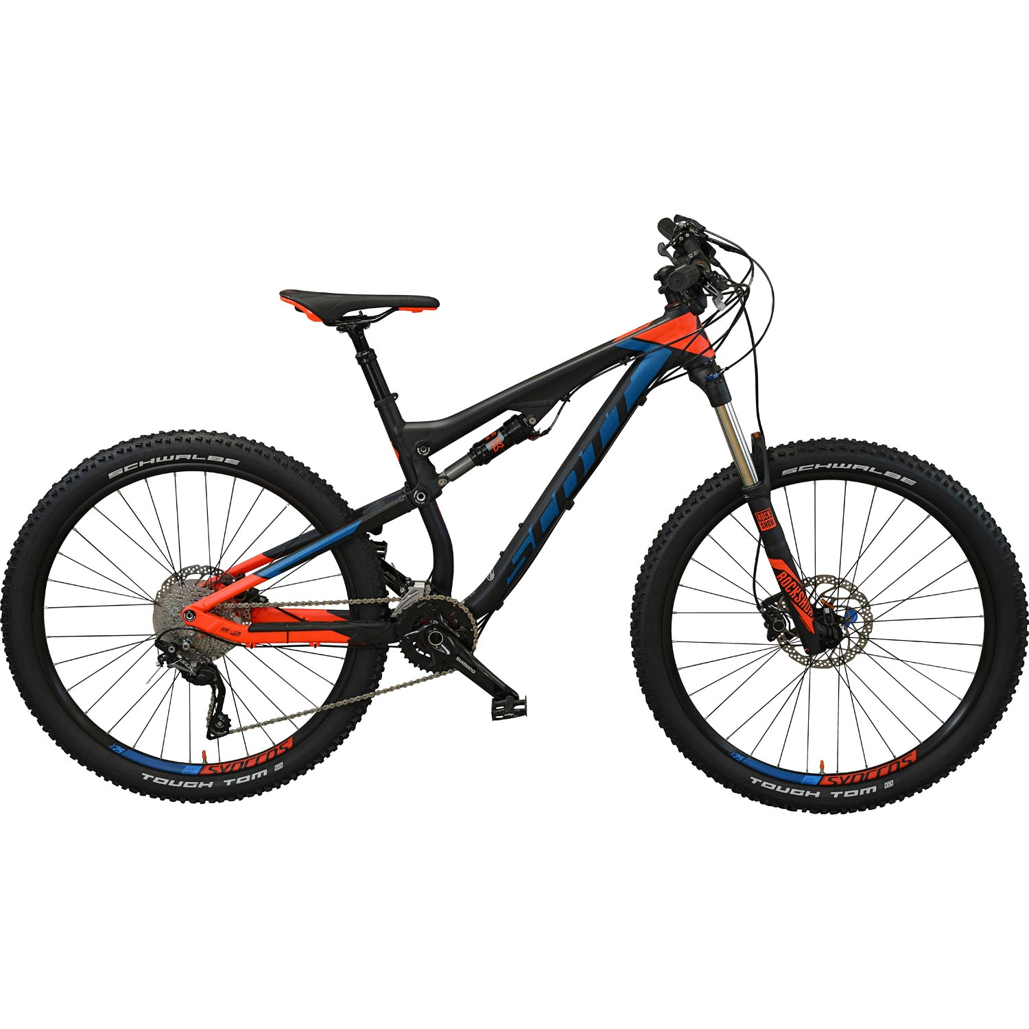 scott genius 750 mountainbike 27 5 zoll fully 41 cm s. Black Bedroom Furniture Sets. Home Design Ideas