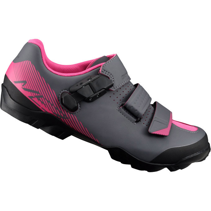 shimano sh me3 mtb schuhe damen schwarz pink gr e 39. Black Bedroom Furniture Sets. Home Design Ideas