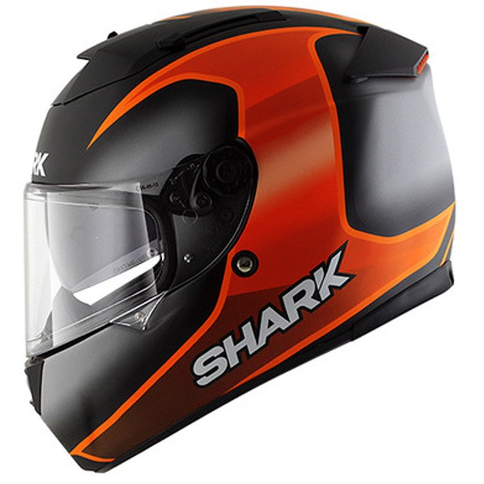 shark speed r series 2 starq integralhelm schwarz orange. Black Bedroom Furniture Sets. Home Design Ideas
