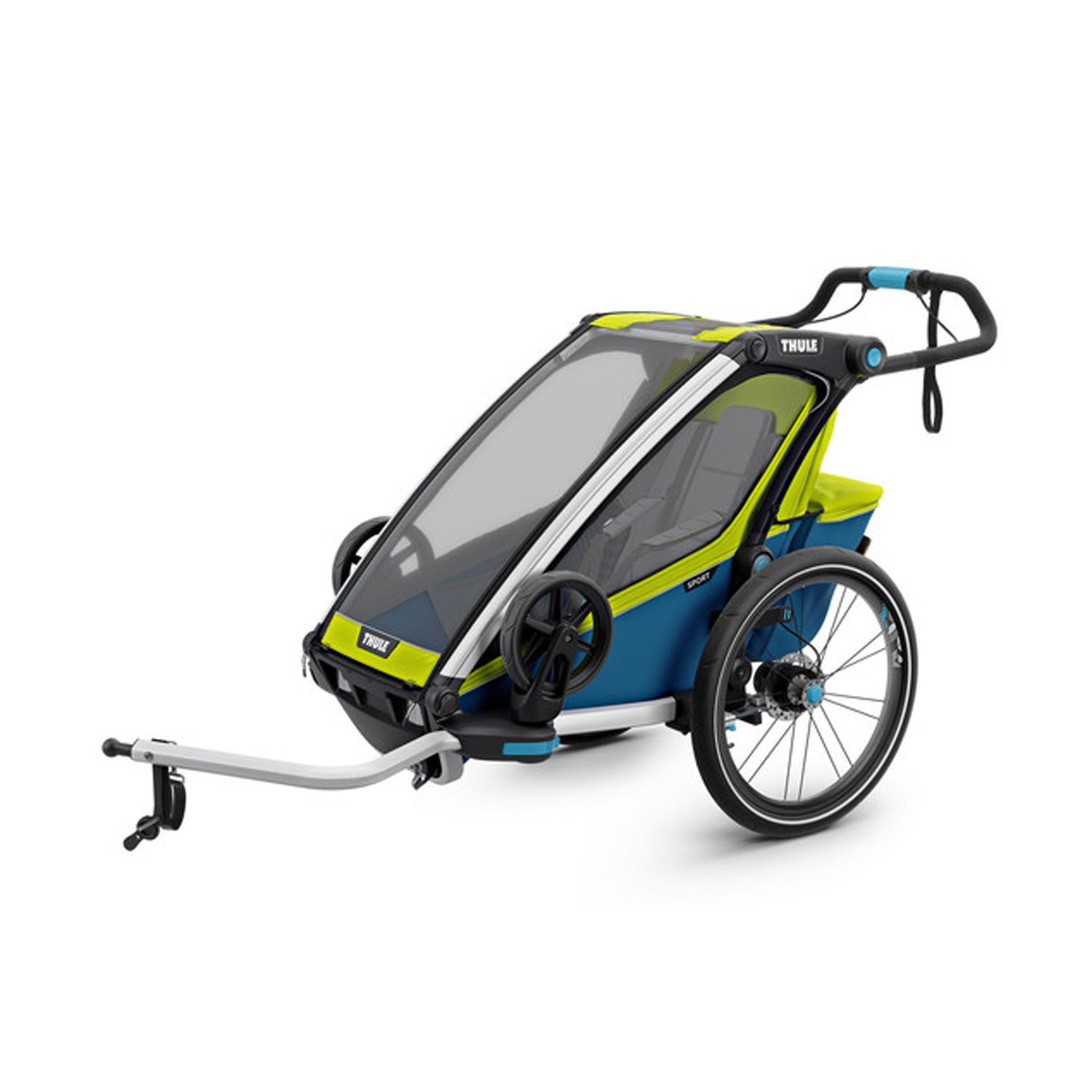 Thule Chariot Sport 1 Kinderanh Nger 2017 Chartreuse