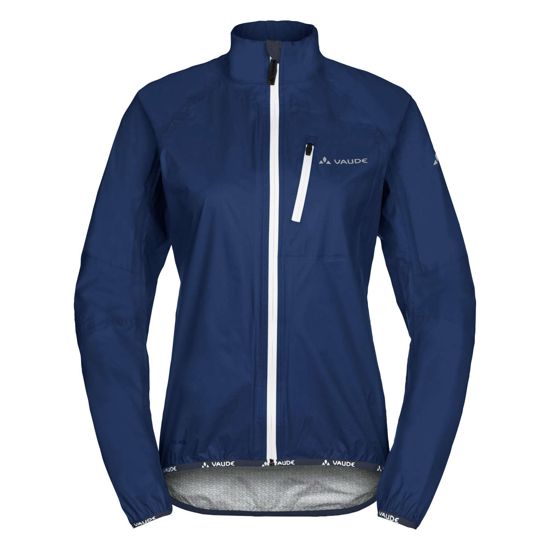 vaude drop jacket regenjacke damen blau gr e 36 online shop zweirad stadler. Black Bedroom Furniture Sets. Home Design Ideas