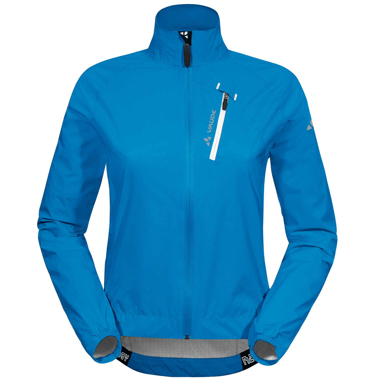 vaude sky fly jacket ii regenjacke damen blau gr e 34 online shop zweirad stadler. Black Bedroom Furniture Sets. Home Design Ideas