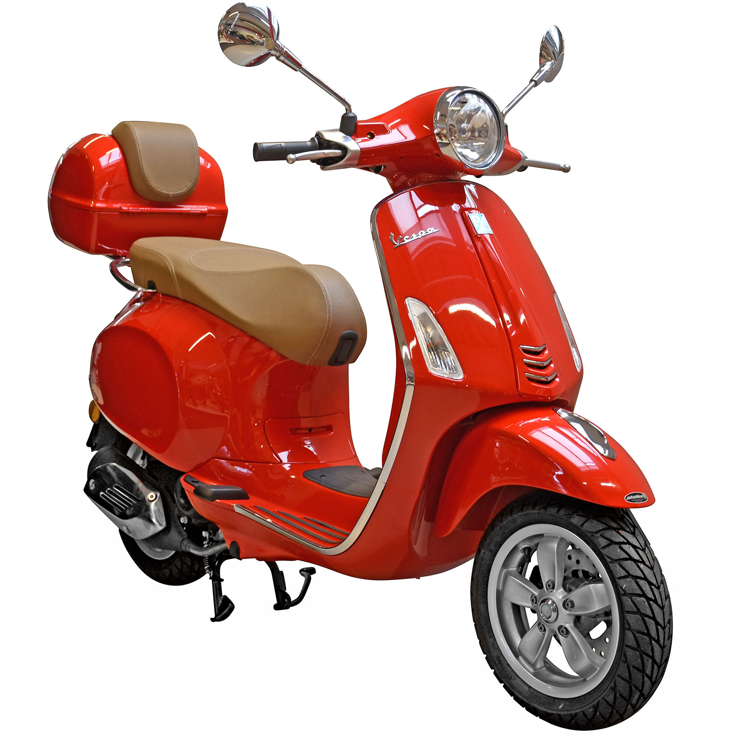 vespa primavera 50 4t rot online shop zweirad stadler. Black Bedroom Furniture Sets. Home Design Ideas