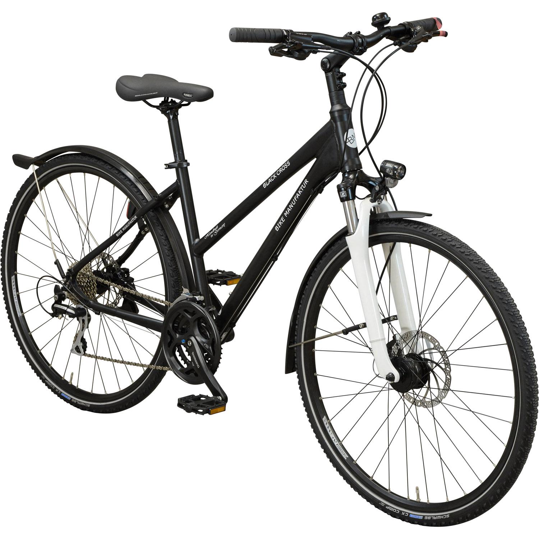 bike manufaktur black cross crossrad 45 cm online shop. Black Bedroom Furniture Sets. Home Design Ideas