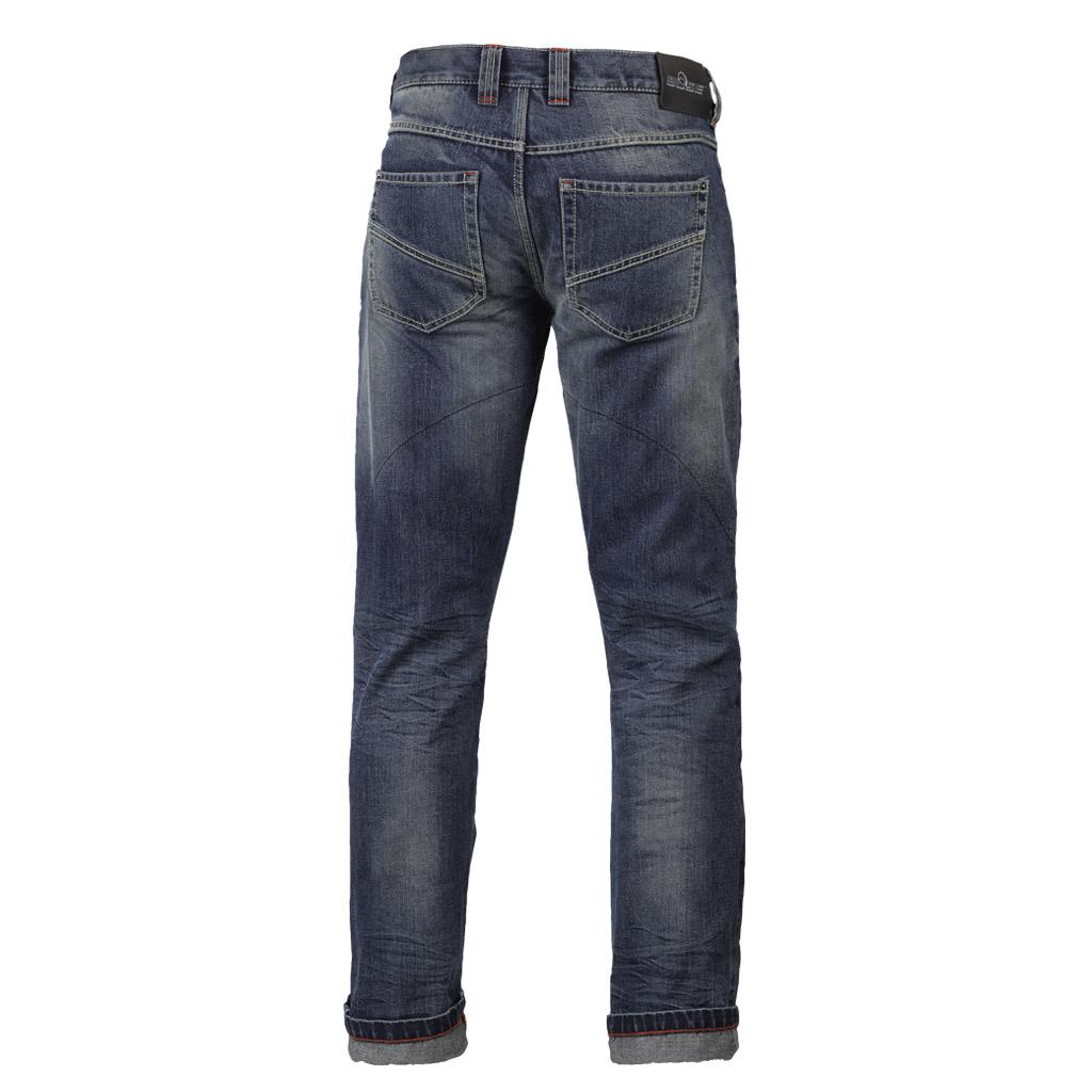 b se san diego damen jeans blau gr e 28 30 online shop zweirad stadler. Black Bedroom Furniture Sets. Home Design Ideas