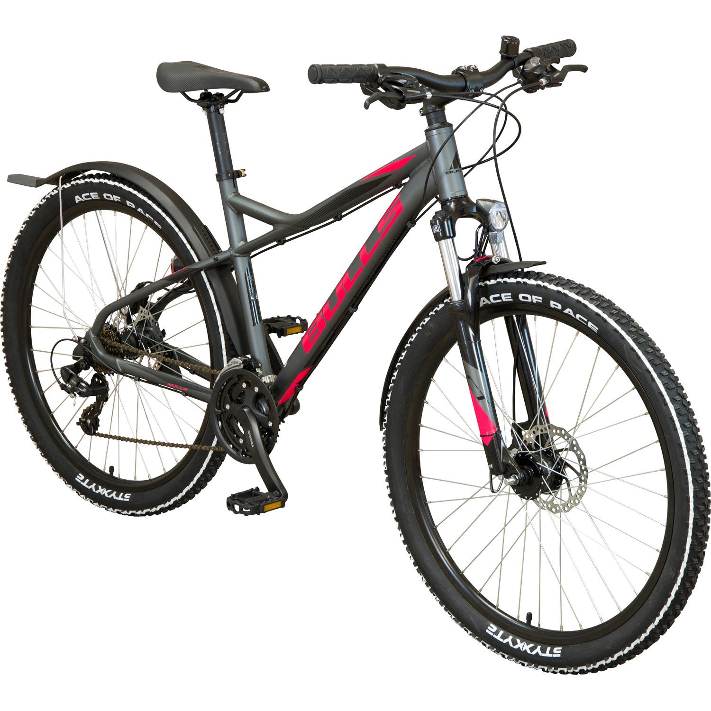 bulls racer street damen mountainbike 27 5 37 cm damen. Black Bedroom Furniture Sets. Home Design Ideas