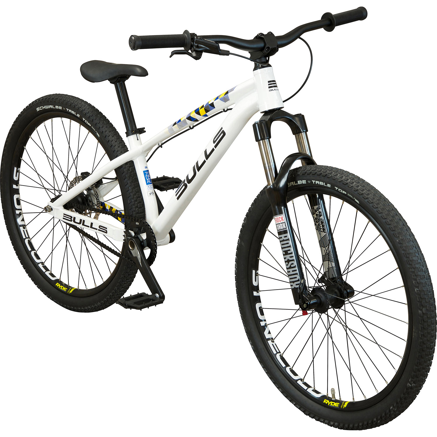 bulls stonecold gravity mountainbike 26 zoll wei 26. Black Bedroom Furniture Sets. Home Design Ideas
