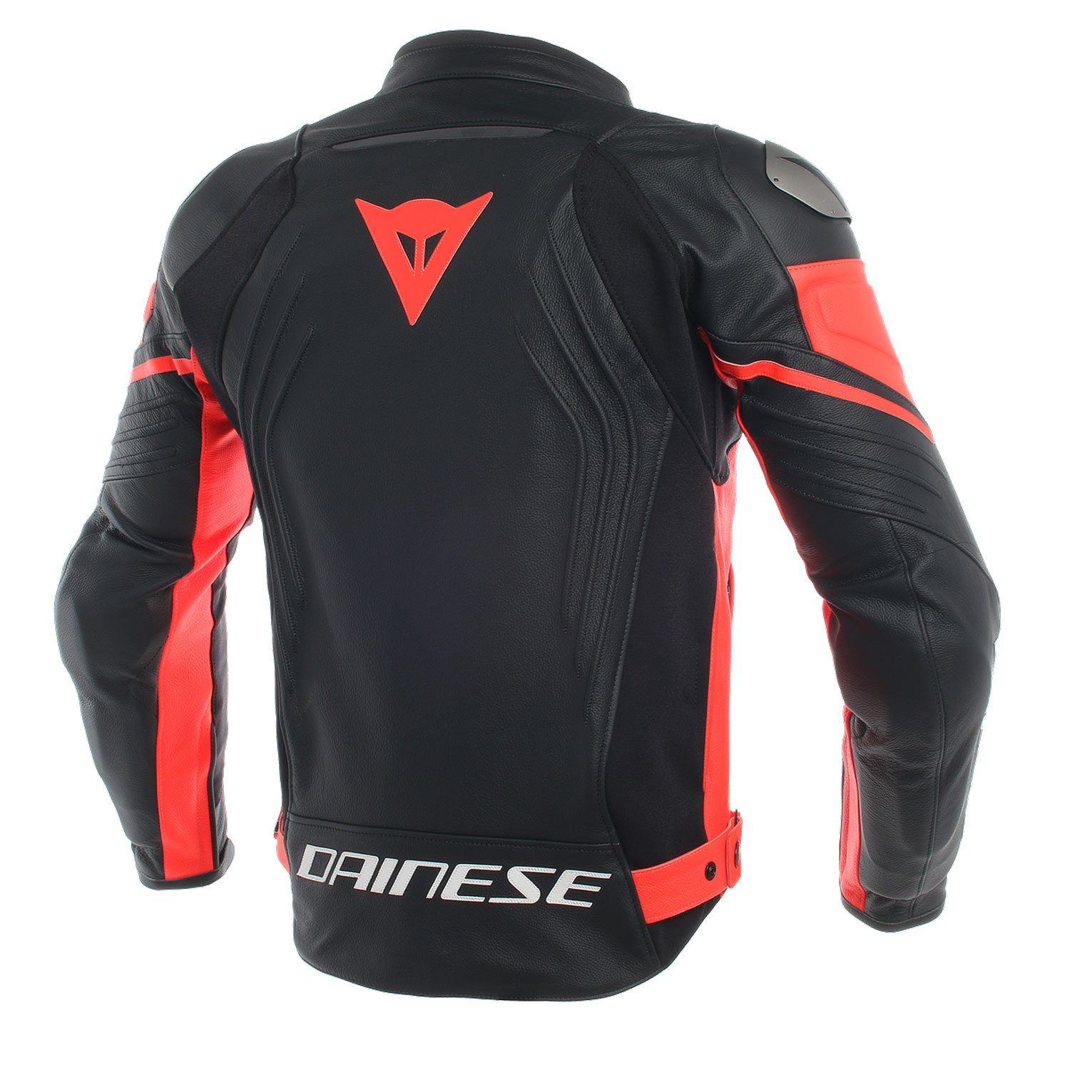 dainese racing 3 lederjacke schwarz fluorot gr e 52. Black Bedroom Furniture Sets. Home Design Ideas