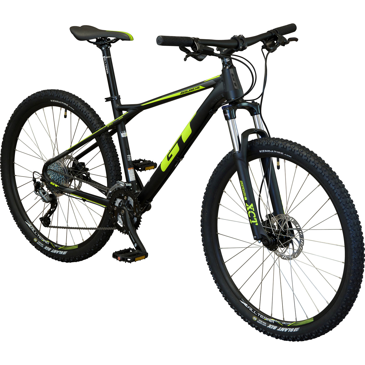 gt avalanche sport hardtail mountainbike 27 5 zoll xs 35. Black Bedroom Furniture Sets. Home Design Ideas