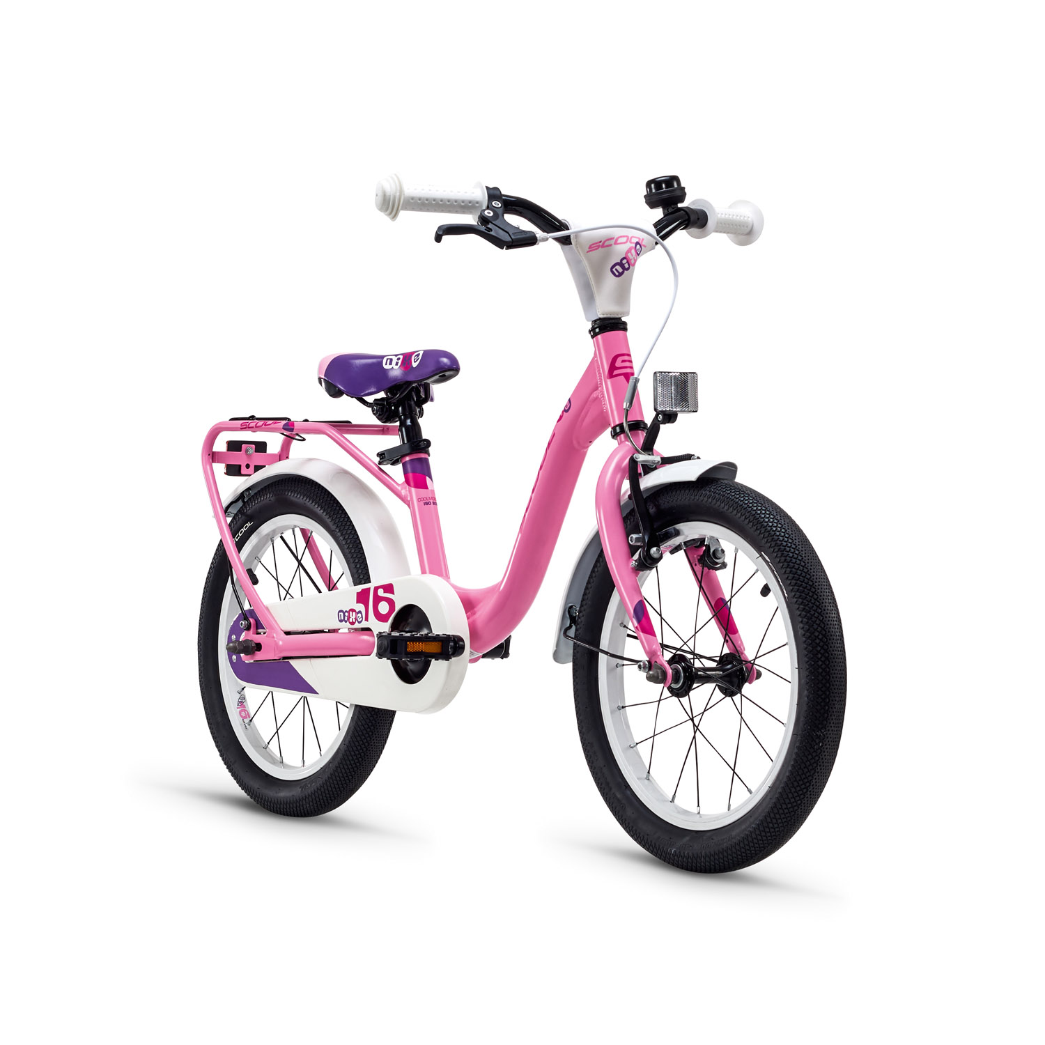 s cool nixe 16 alloy kinderfahrrad 16 zoll lightpink m dchen online shop zweirad stadler. Black Bedroom Furniture Sets. Home Design Ideas
