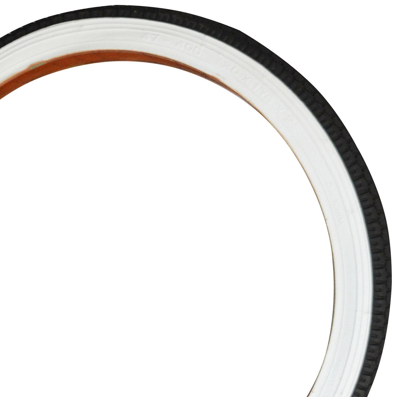 pegasus c 221 fahrrad reifen 20 zoll schwarz mit wei er. Black Bedroom Furniture Sets. Home Design Ideas