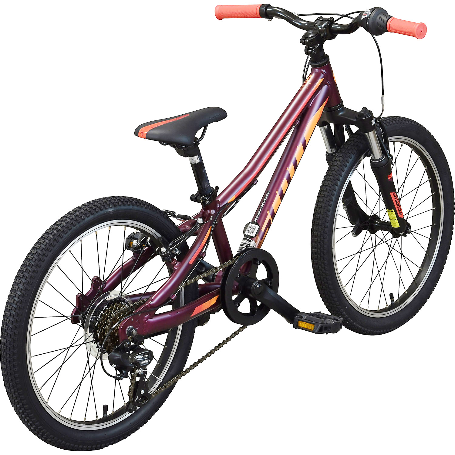 scott contessa jr 20 m dchenfahrrad 20 zoll mountainbike. Black Bedroom Furniture Sets. Home Design Ideas