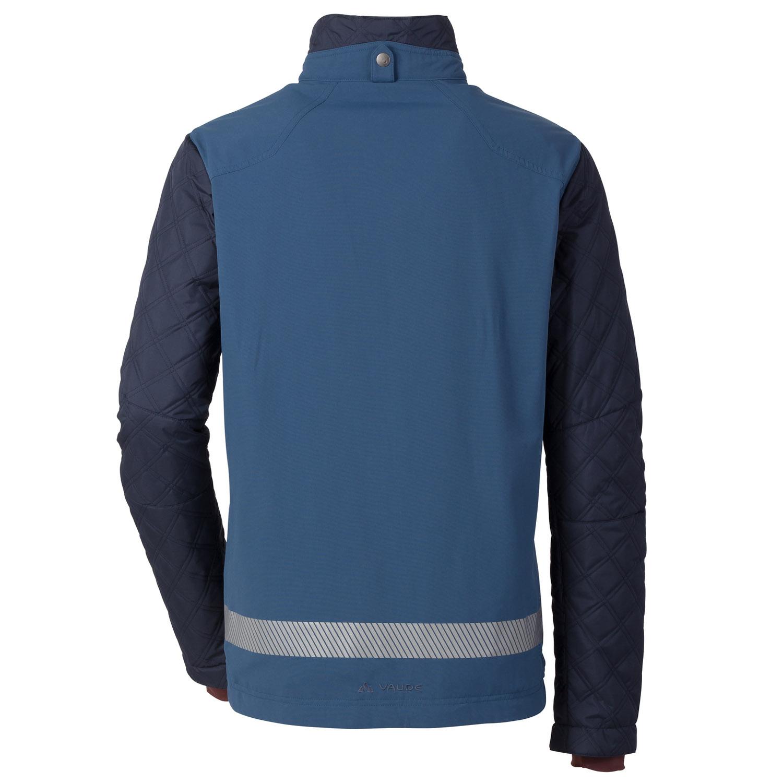 vaude cyclist padded jacke herren blau gr e s 48 online shop zweirad stadler. Black Bedroom Furniture Sets. Home Design Ideas