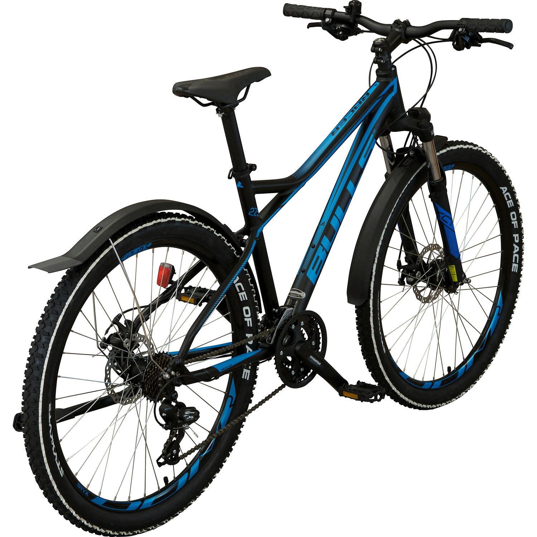 bulls racer street 27 5 zoll mountainbike schwarz blau. Black Bedroom Furniture Sets. Home Design Ideas