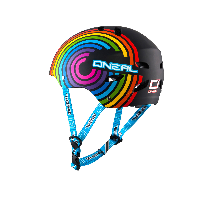 o 39 neal dirt lid rainbow fahrradhelm kinder rainbow gr e. Black Bedroom Furniture Sets. Home Design Ideas