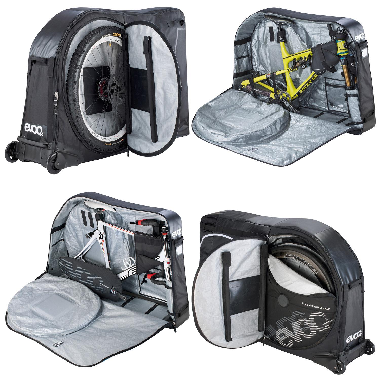 evoc bike travel bag fahrrad transporttasche schwarz. Black Bedroom Furniture Sets. Home Design Ideas