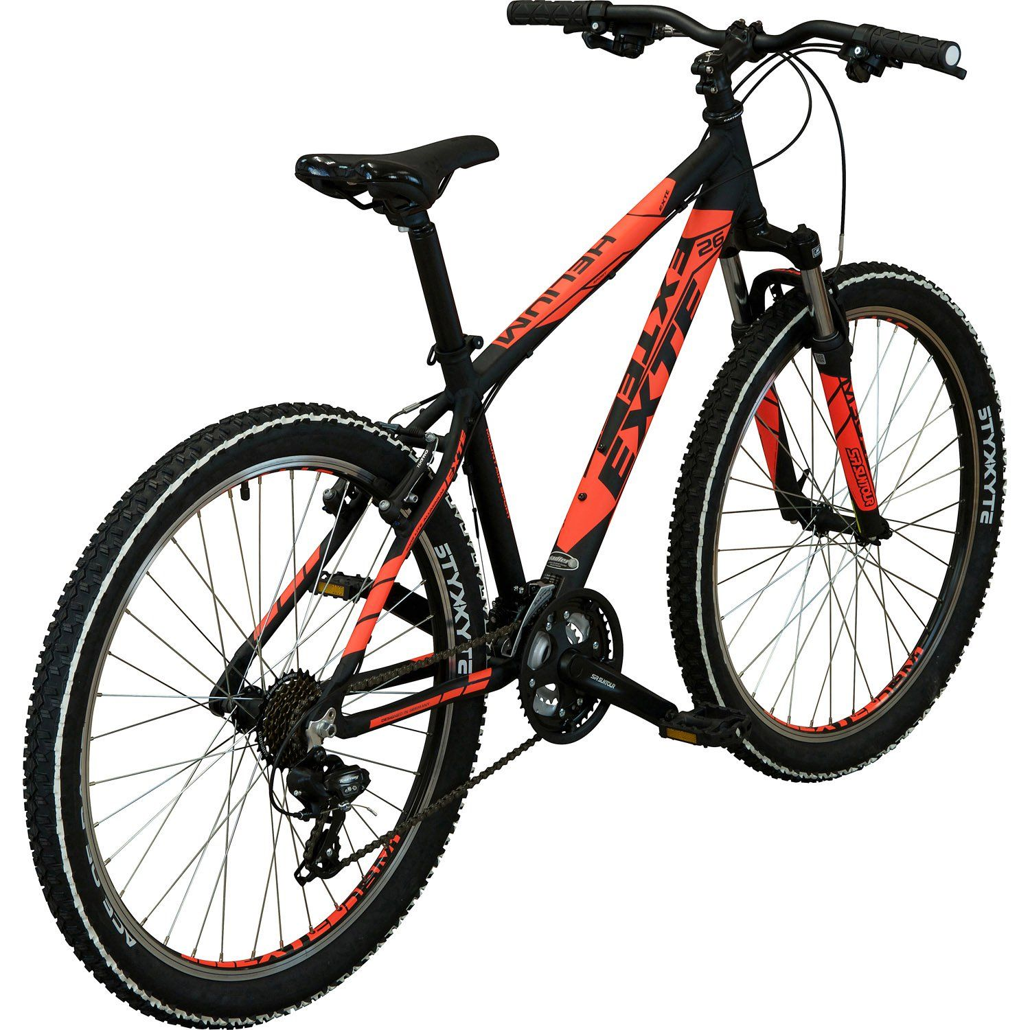 exte helium mountainbike 26 zoll schwarz neonorange 41 cm online shop zweirad stadler. Black Bedroom Furniture Sets. Home Design Ideas