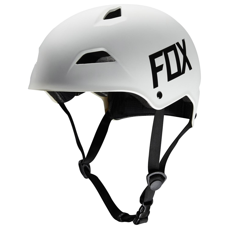fox flight hardshell skate helm matt blau gr e l 57 58. Black Bedroom Furniture Sets. Home Design Ideas